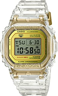 Casio G-Shock DW-5035E-7JR Glacier Gold 35th Anniversary Clear Skeleton Shock Resistant Watch (Japan Domestic Genuine Products)