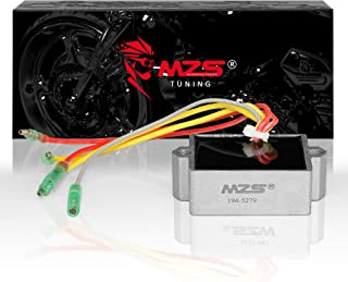 MZS 194-5279 Regulator Rectifier Voltage for Mercury Mariner Outboard 5 Wires 25 to 250 HP Replace 815279-1 815279-2 815279-3 815279-4 815279-5 65W-81960-00-00 65W-81960-10-00