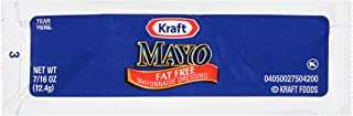 Sponsored Ad - KRAFT Single Serve Fat-Free Mayonnaise Dressing, 0.44 oz. Packets (Pack of 200)