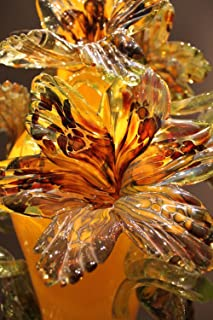 Gifts Delight LAMINATED 24x36 inches Poster: Chihuly Chihuly Glass Sculpture Art Glass Yellow Colorful Decoration Red Flourish Flowers Floral Color Beautiful Colour
