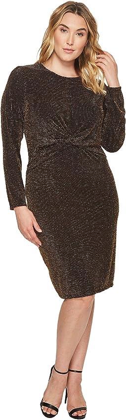2b1ff2a214f MICHAEL Michael Kors. Abbey Short Sleeve Boat Neck Border Dress.   59.99MSRP   98. Plus Size Twist Waist Long Sleeve Dress