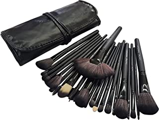 Dream Maker® 24 Piece Makeup Brush Set (Black)