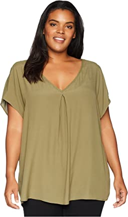 4194488fc3a4 Plus Size Nova Cold Shoulder Blouse