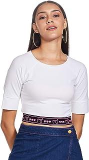 RIVER Manish Arora Slim Fit Women's Tops T-Shirt