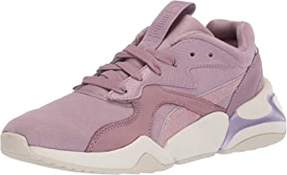 PUMA 女士 Nova 运动鞋 Elderberry-elderberry 7.5 M US