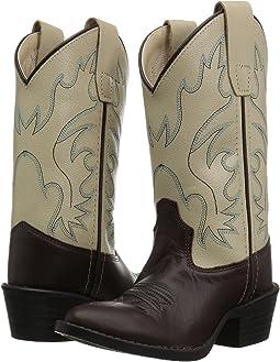 Old West Kids Boots Bone J Toe (Toddler/Little Kid)