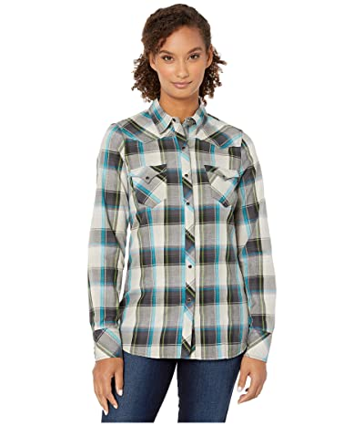 Roper 0718 Dove Grey Plaid (Black) Women
