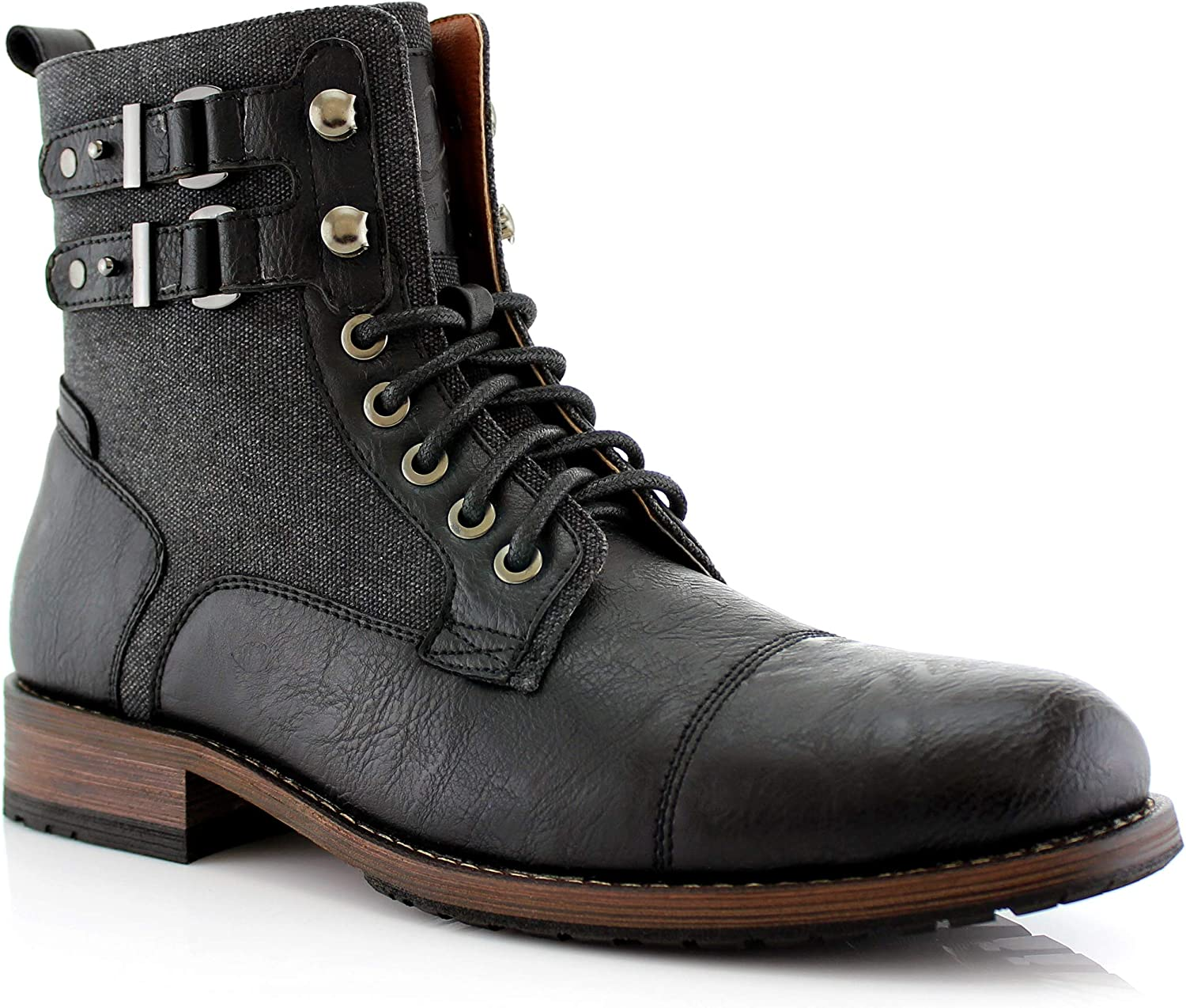 Polar Fox Mitch MPX808576 Mens Casual Cap Zi Popularity Boot New mail order Motorcycle Toe