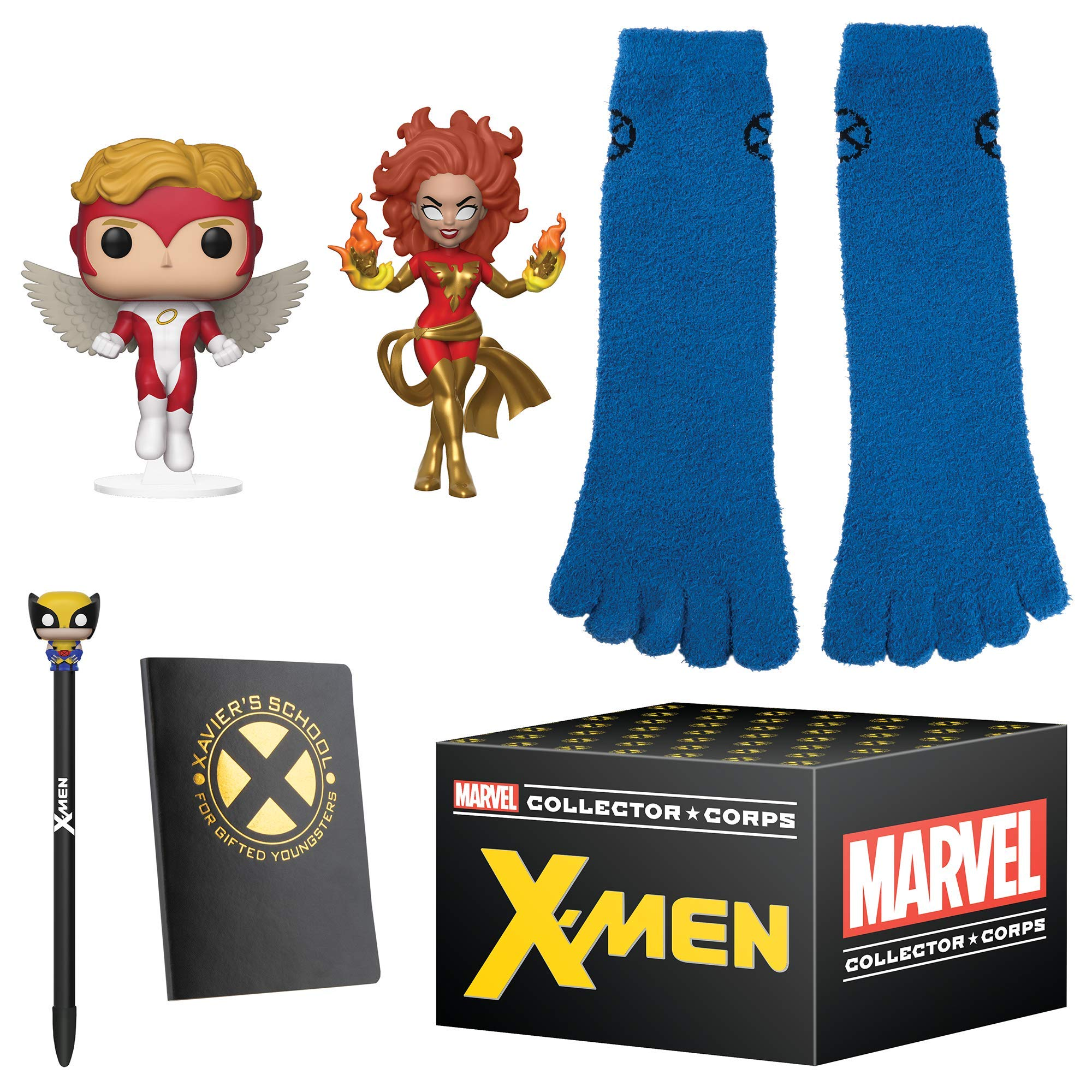 Funko Marvel Collector Corpsブックボックス -  X-Menテーマ、2019年1月