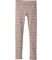 Fendi Kids - All Over Heart Print Leggings (Little Kids)