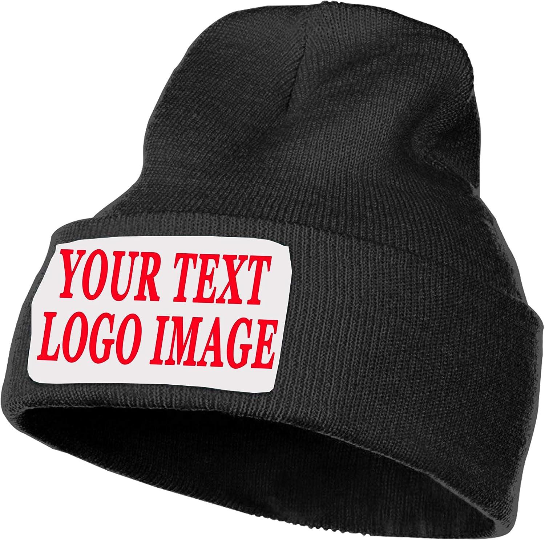 Max 48% OFF Beanie Knit Hat Unisex Custom Personalized Pictu Cap Upload Seattle Mall