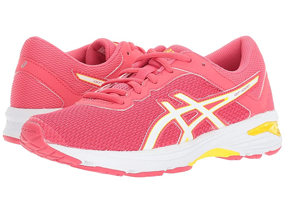ASICS Kids GT-1000 6 GS (Little Kid/Big Kid) (Rouge Red/White/Yellow) Girls Shoes
