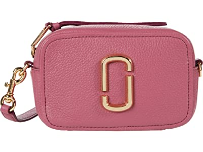 Marc Jacobs The Softshot 17 Crossbody (Dusty Ruby) Cross Body Handbags