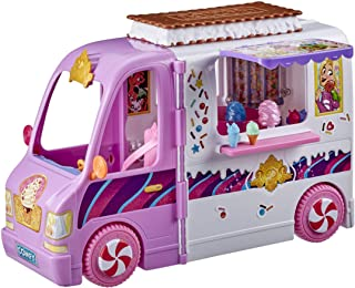 Disney Princess Comfy Squad Sweet Treats Truck, Playset with 16 Accessories, Pretend Ice Cream Shop, Toy for Girls 5 Years...