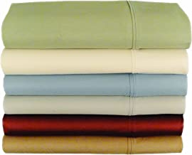 Baltic Linen 400 Thread Count Easy Care Cotton Rich Sateen Sheet Set, California King, Dust Sage
