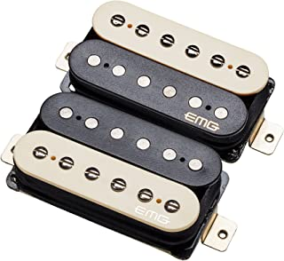 EMG Retro Active Hot 70 Guitar Pickup Set, Zebra