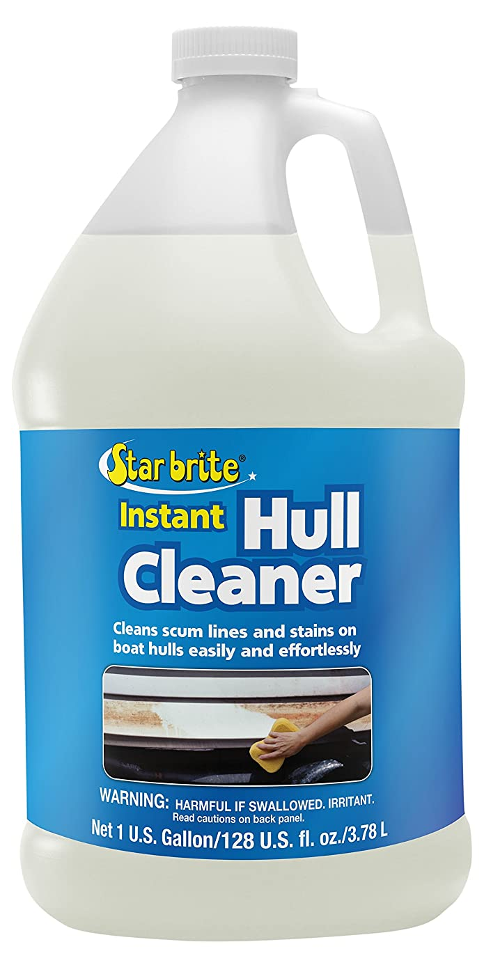 Star Brite Instant Hull Cleaner - Clean Stains & Scum Lines On Boat Hulls Easily & Effortlessly