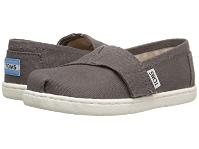 TOMS Kids Alpargata 2.0 (Infant/Toddler/Little Kid) (Ash Canvas) Kid