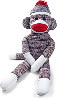 Pennington Bear Company The Original Sock Monkey, Hand-Knit, Plush Material, 20