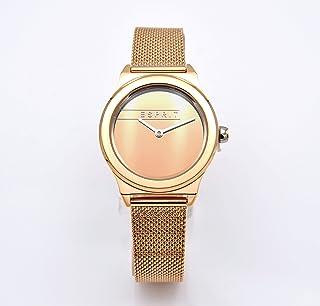 ساعة كوارتز انالوج ورقمية بسوار من الستانلس ستيل للرجال من اسبريت، ES1L005M0065