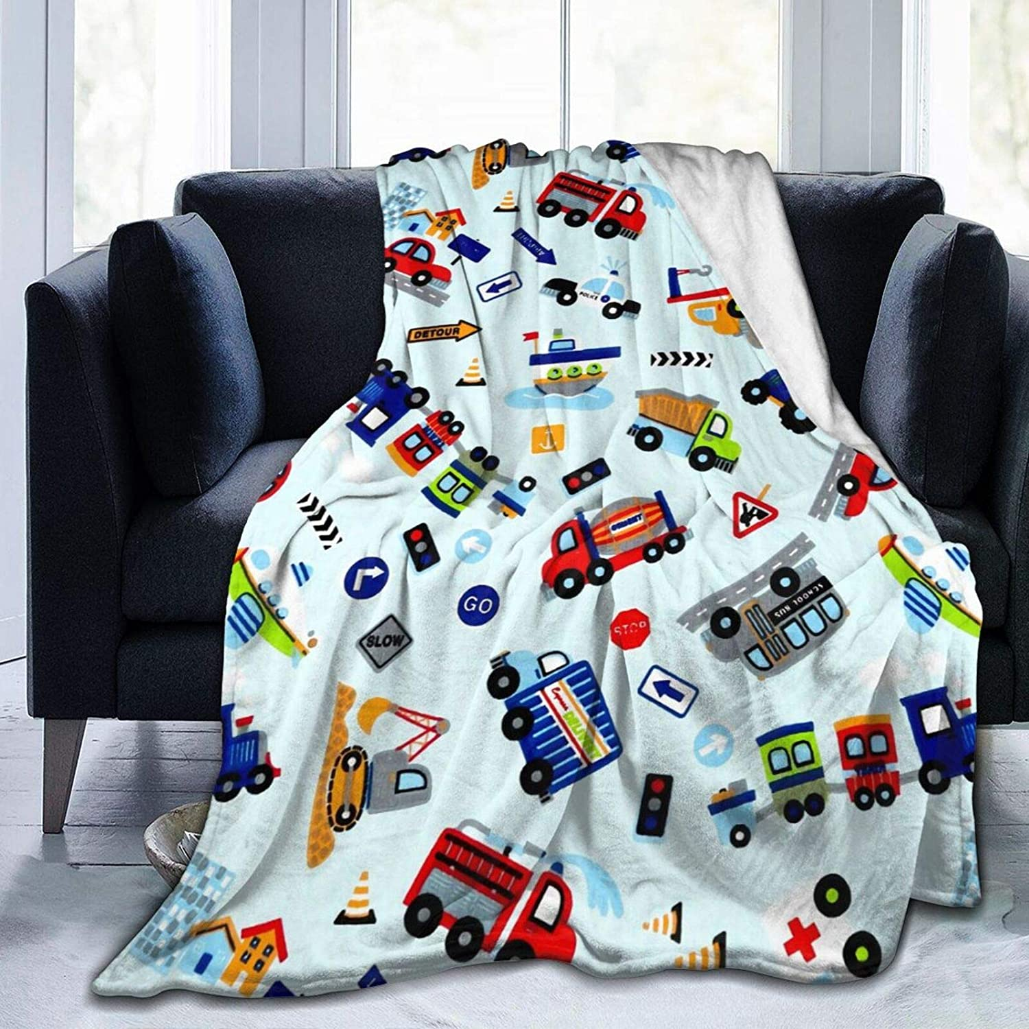 Youth Bold And Brash Funny Sloth Space Astronaut Flannel Fleece Blanket Kids 40 50 Inch Planets Rockets Soft Microfiber Cozy Lightweight Sofa Travel Blanket for Baby