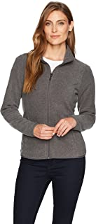 Women's Classic Fit Long-Sleeve Full-Zip Polar Soft...
