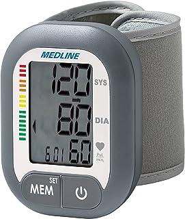 مانیتور فشار خون دیجیتال مچ دست دیجیتال ، دکمه BP دکمه باتری (60 حافظه خواندن)