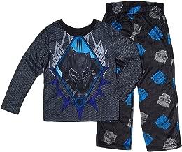 AME Black Panther Boys Fleece Pajama Set