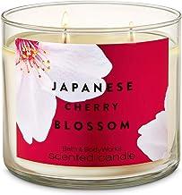 شمعة 3-فتيل من الكرز اليابانية من باث آند بودي ووركس 411 جرام