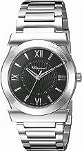 Salvatore Ferragamo Men's FI0940015 VEGA Stainless Steel Watch with Black Dial