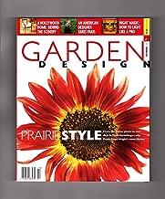 Garden Design Magazine - October, 1999. Cover: Prado Red Sunflower. Frank Lloyd Wright and Prairie Style; Smokebush (Cotinus coggygria); Maze-Making; Edith Wharton; Charles & Ray Eames; French Garden Design; Garden Illumination