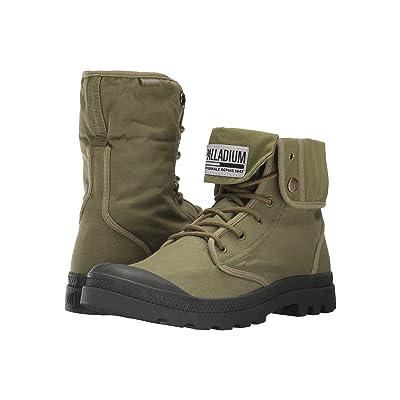 Palladium Baggy Army TRNG Camp (Olive Drab/Beluga) Athletic Shoes