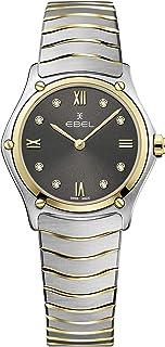 EBEL Ladies 1216419A Sport Classic 18K Gold & Steel Swiss Quartz Watch