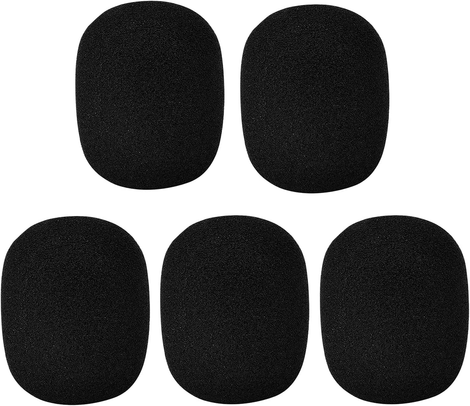 5 Pack Large Max 50% OFF Foam Al sold out. Cover Mic Handheld Microphone Windscreen