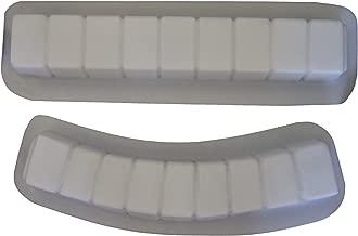 Brick Curve & Straight Border Edging Concrete Plaster Mold 5014