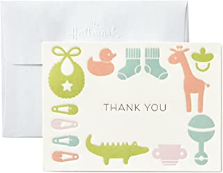 Hallmark Baby Shower Thank You Cards, Gender Neutral (10 Cards with Envelopes for Baby Boy or Baby Girl)