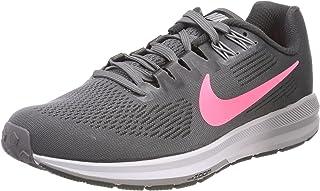 Nike Women's W AIR Zoom Structure 21, Gunsmoke/Sunset Pulse
