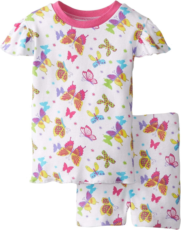 New Jammies Baby Girls' Baby Pajamas Short Set Butterfly Magic