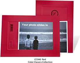 """product image for Photo Note Cards for 4"""" x 6"""" image 10 Pack with Envelopes ColorClassics (Red)"""