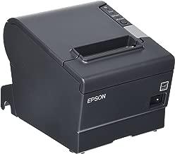 Epson C31CA85834 TM-T88V Direct Thermal Receipt Printer PAR Plus USB EDG PWR Energy Star, Monochrome, 5.8in Height x 5.7in Width x 7.7in Depth(PARALLEL/USB MODEL) (Renewed)