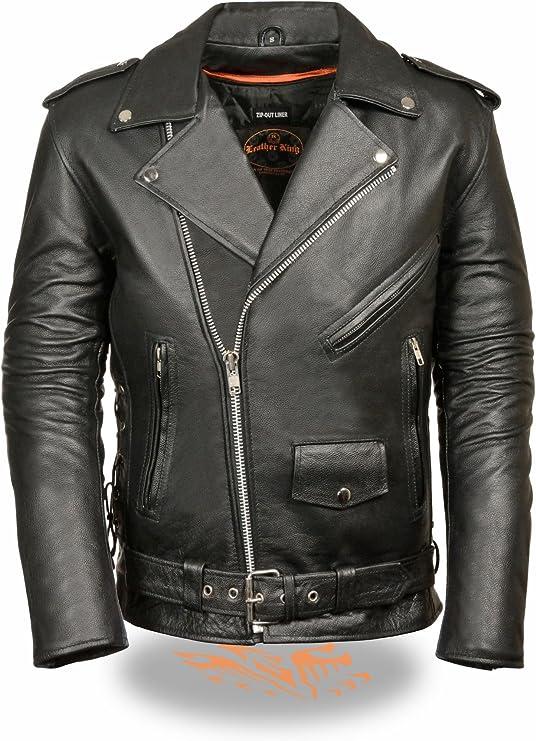 883 Police Hereford Multi Zip Biker Jacket-Black
