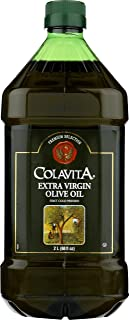 Colavita Extra Virgin Olive Oil, First Cold Pressed, (2 Liters) 68 Fl Oz (Pack of 1)