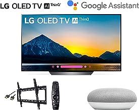 "$1489 Get LG OLED55B8PUA 4K HDR Smart OLED TV w/AI ThinQ - 55"" Class w/Google Mini Smart Speaker w/Flat Wall Mount and HDMI Cable - LG Authorized Dealer"