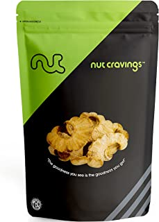 Nut Cravings All Natural Dried Pineapple Rings – Sweet, Healthy, All Natural Dehydrated Fruit Snacks – 16 Ounce