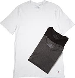 Tommy Hilfiger Cotton Crew Neck Shirt 3-Pack
