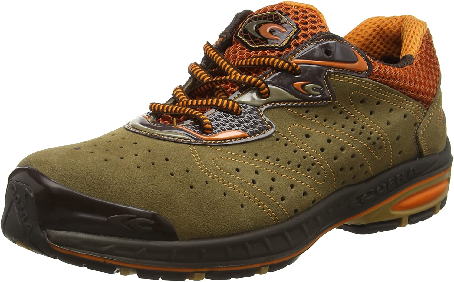 Cofra 19020-001.W42 Size 42 S1 P SRC Cantera  Safety shoes - Grey orange
