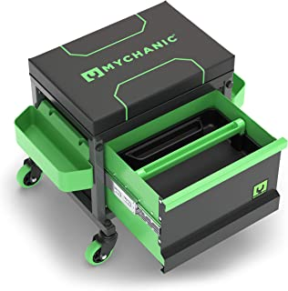 MYCHANIC Garage Rolling Toolbox Stool - Sidekick Stool - SK3 - Holds 500 lbs.