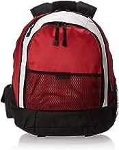 World Traveler Evolution 15.6 Inch Laptop Backpack, Red/Gray, One Size