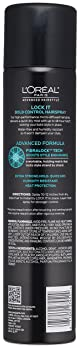 L'Oreal Paris Advanced Hairstyle Lock It Bold Control Hairspray 8.25 Ounce