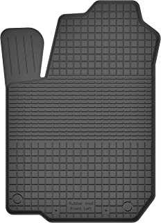 KO RUBBERMAT 1 Stück Gummimatte Fußmatte Fahrer geeignet zur Toyota AURIS II (Bj. ab 2013) ideal angepasst